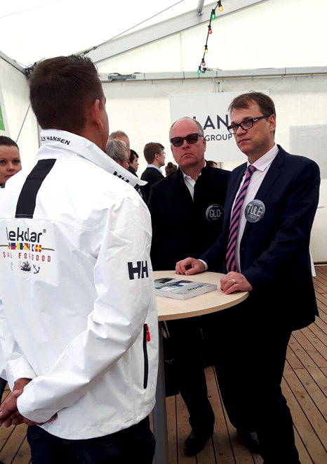 Lekolar Juha Sipilä Sail For Good Global classroom