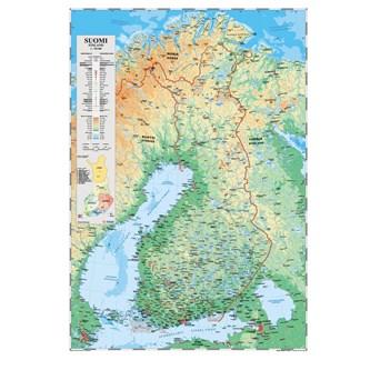 Suomen Kartta Liukuvaunussa Lekolar Suomi