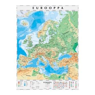 Euroopan Kartta Riiputettava Lekolar Suomi